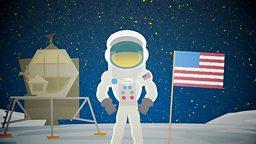 Moon landing: Why was Neil Armstrong first? 为什么阿姆斯特朗是踏上月球的第一人?