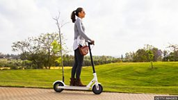 Electric scooter safety 电动滑板车的安全