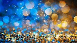 "Sparkle, glitter, twinkle, radiate 四个表示 ""发光、闪烁"" 的词语"