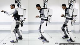 Mind-reading machine helps man walk again 读脑机械装置让瘫痪者再次行走