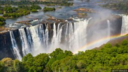 Victoria Falls: Is Zimbabwe drying up? 维多利亚瀑布今非昔比 津巴布韦遇严重干旱