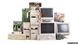 Solving the problem of e-waste 电子垃圾处理的新方法