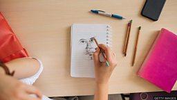 Is doodling good for you? 心不在焉地随手乱画对你有好处吗?
