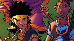 Comics from Africa 来自非洲的漫画