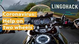 Coronavirus: Help on two wheels