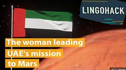 The woman leading UAE's Mars mission
