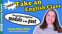 Take an English class: Modals in the past