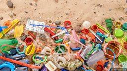 The worldwide plastic problem 遍及全球的塑料污染问题
