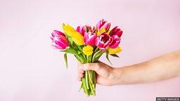 Free flowers to bring happiness 英国公益送花活动向陌生人传递快乐