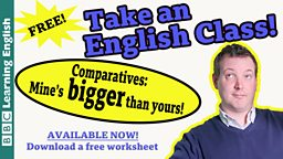 Take an English class: Comparatives