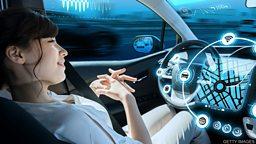 Driverless cars to be on UK roads? 英国或将批准无人驾驶汽车上路