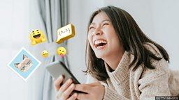 """""""表情包""""、""""表情符号""""、""""贴图"""" 用英语怎么说?"""