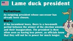 Lame Duck President