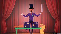 "The 100-year-old magic trick 经典魔术 ""人体切割"" 诞生一百年"