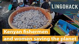 Kenyan fishermen and women saving the planet
