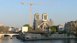 The restoration of Notre Dame 修复巴黎圣母院