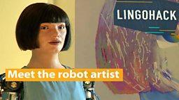 Meet the robot artist