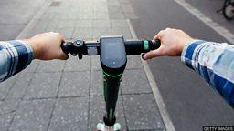 E-scooter rental trials 英国试行共享电动滑板车计划