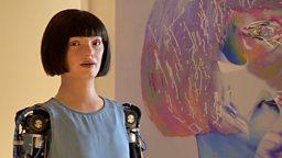 Meet the robot artist 来认识机器人艺术家