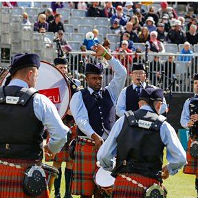 Simon Fraser University Pipe Band