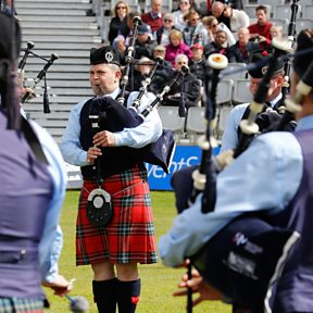 The Field Marshal Montgomery Pipe Band
