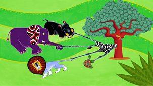 Tinga Tinga Tales - Series 1 - Why Giraffe Has A Long Neck