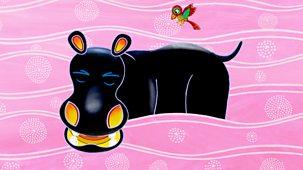 Tinga Tinga Tales - Series 1 - Why Tickbird Sits On Hippo's Back