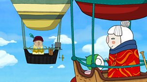 Sarah & Duck - Balloon Race