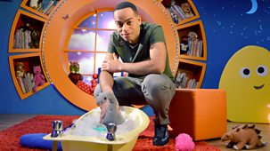 Cbeebies Bedtime Stories - There's A Dinosaur In My Bathtub