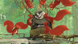 Peter Rabbit - Series 2: 12. The Tale Of The High-flying Badger