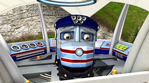 Chuggington - Series 5: 8. Skipper Stu And The Steam Crane