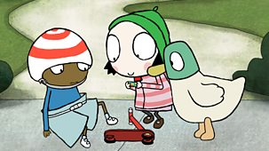 Sarah & Duck - Series 2: 26. Scooter Stand Still