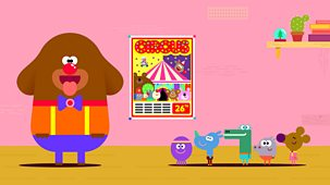 Hey Duggee - 34. The Circus Badge