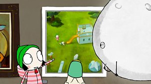 Sarah & Duck - Series 2: 35. Moon's Exhibition