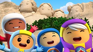 Go Jetters - Series 1: 37. Mount Rushmore, Usa