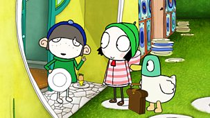 Sarah & Duck - Series 3: 4. Sticker Swap