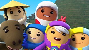 Go Jetters - Series 1: 44. The Paddy Fields Of China