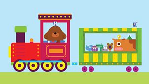 Hey Duggee - Series 2: 14. The Train Badge