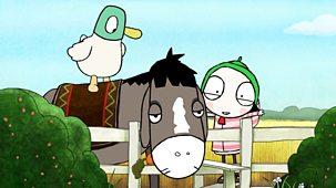 Sarah & Duck - Series 3: 25. Donkey Jump