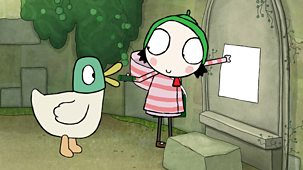 Sarah & Duck - Series 3: 29. Castle Scribbling