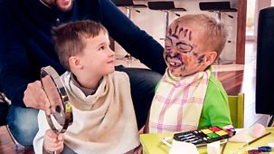 Our Family - Series 4: 14. Bobby And Lenny: Face-painting Pirates