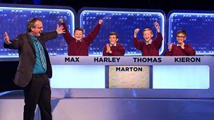 Top Class - Series 3: Quarter-final 1: Hollymount V Marton