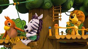 Raa Raa The Noisy Lion - Series 3: 4. Raa Raa And The Zippy Zip Wire