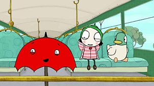 Sarah & Duck - Series 3: 34. Brolly Bus