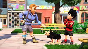 Dennis & Gnasher Unleashed! - Series 1: 6. Griller Thriller