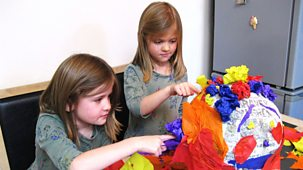Our Family - Our Family Fun: 9. Gracie And Myla's Pretty Pinata