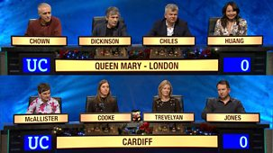 University Challenge - Christmas 2017: 6. Queen Mary College, London V Cardiff University