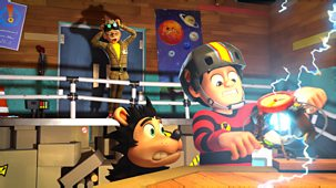 Dennis & Gnasher Unleashed! - Series 1: 22. Red And Black To The Future