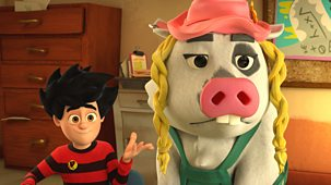 Dennis & Gnasher Unleashed! - Series 1: 23. Pig Trouble In Little Beanotown