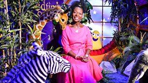 Cbeebies Bedtime Stories - 629. Floella Benjamin - The Zebra Who Ran Too Fast